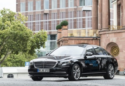 Mercedes Classe S Intelligent World Drive