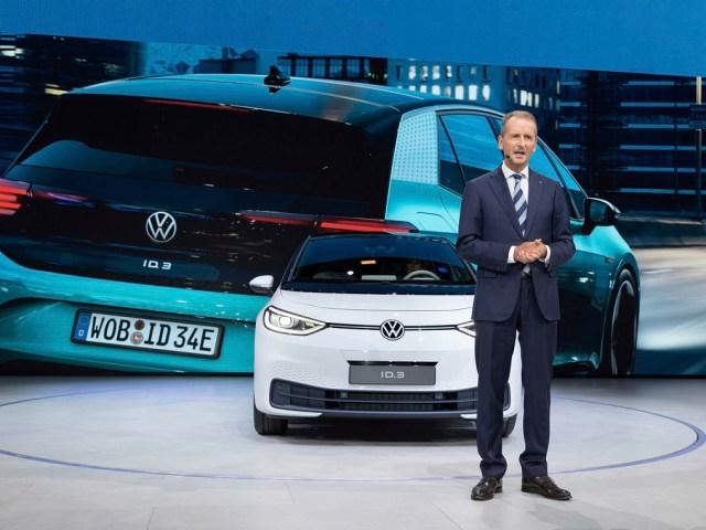 Francoforte IAA 2019, doppietta elettrica VW con e-up e ID.3