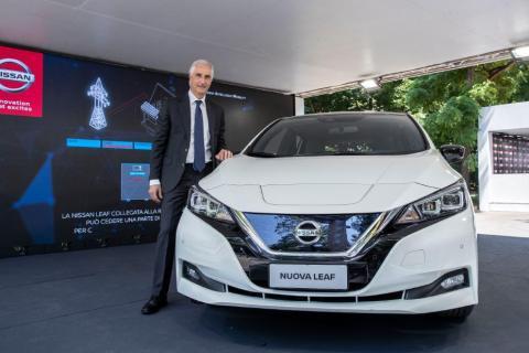 Economia circolare: Nissan in prima linea per imprese e città italiane