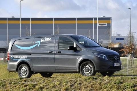 Amazon sceglie Mercedes eVito a zero emissioni locali per le consegne