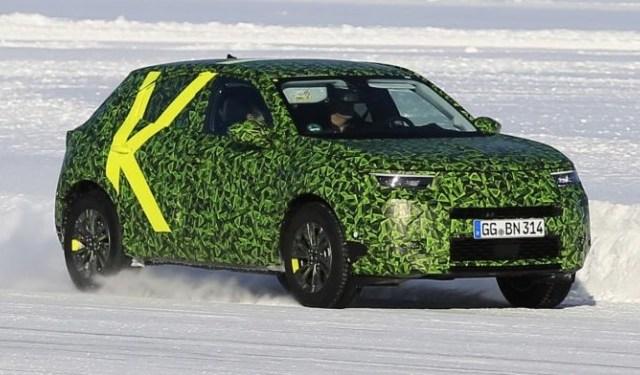 Nuova Opel Mokka: superate la FASE 1-2 e pronta per il 2021