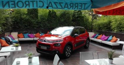 Terrazza Citron ristorante a tema auto nel centro di Milano