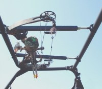 "Quick-Draw Overhead Crossbow Rack for UTV's with 23"" to ..."