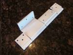 Fleetwood RV Entry Door Hinge Replacement - Front