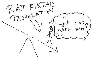 Rätt provokation