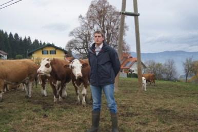 Andreas Graschi bei der Betriebsvorstellung