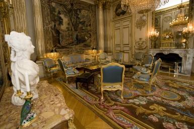 Dcoration Prsidentielle  Epoque classique vues sur le Palais de llyse  Floriane Lemari