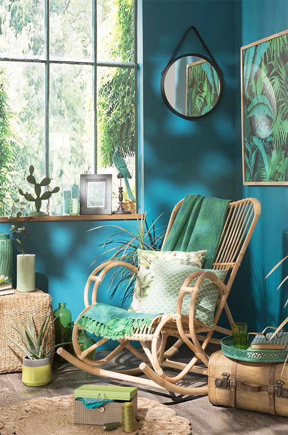 Le style tropical ou la tendance jungle urbaine  Floriane Lemari