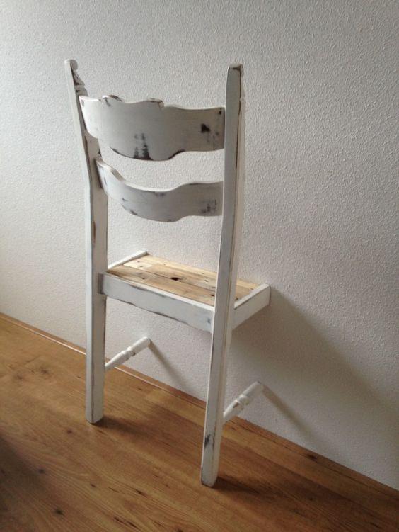 DIY  crez des valets de chambre muraux avec des chaises  Floriane Lemari