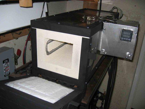Knife Heat Treat Oven