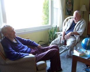 2009 - a good visit with cousin Flemming Lindblad
