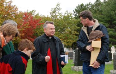 Rev. Ivan Gregan, a dear friend of Flemming.