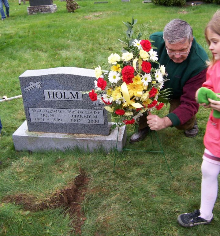 And little girls danced on his grave. Really.