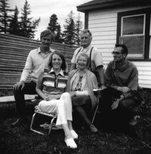 1971 - John, Anna. Magda, Viggo, Flemming