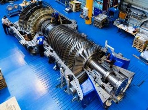 Combined Plant Power Gas Cycle Turbine
