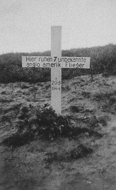 Lancaster III PB202 crashed at Frby Hede heath 308 1944