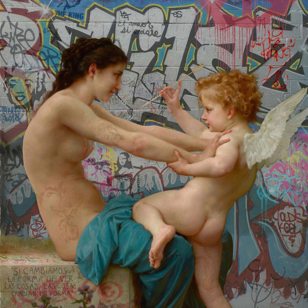 ArtPopClassic de Marco Battaglini FLESH Magazine