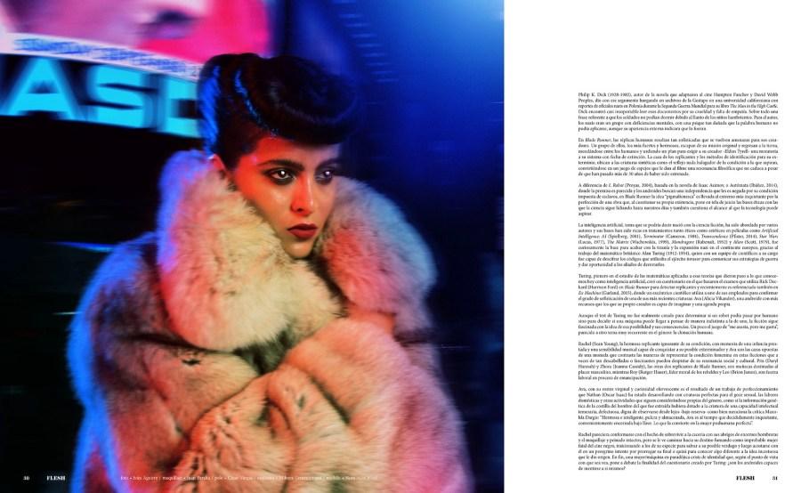 Cine Androides FLESH Magazine Ivan Aguirre Manuel Meza