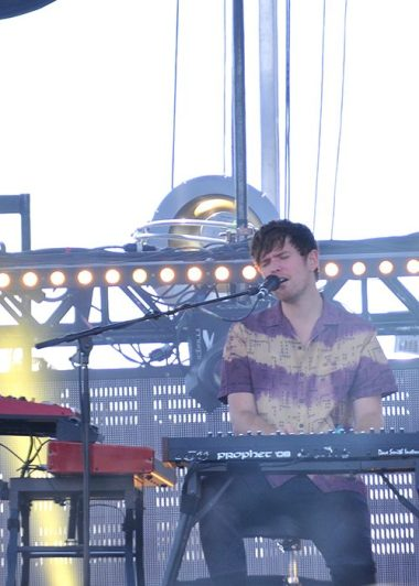 James Blake en el Festival Ceremonia 2017. PHOTO Jose Luis Lozano/ FLESH Magazine