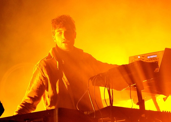 Nicolas Jaar en el Festival Ceremonia 2017. PHOTO Jose Luis Lozano/ FLESH Magazine