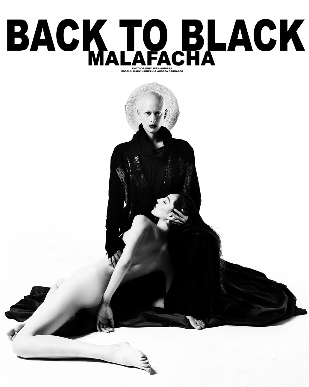 Back to Black PHOTO Ivan Aguirre, Total Look Malafacha