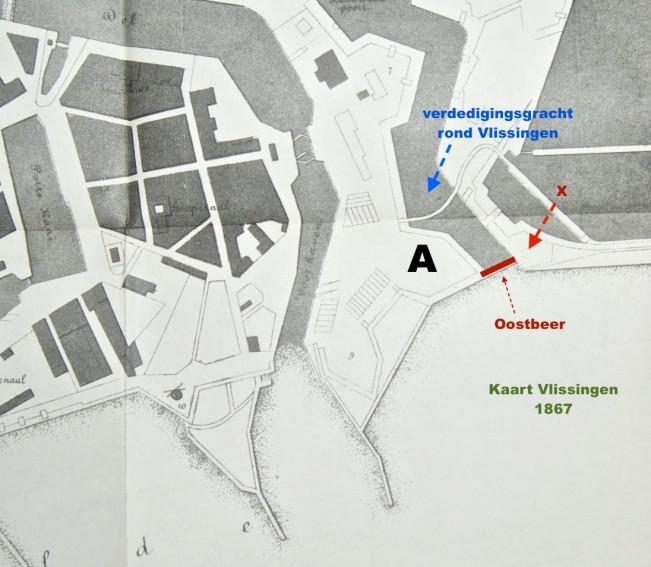 Vesting Vlissingen Casantsbolwerk en Oostbeer