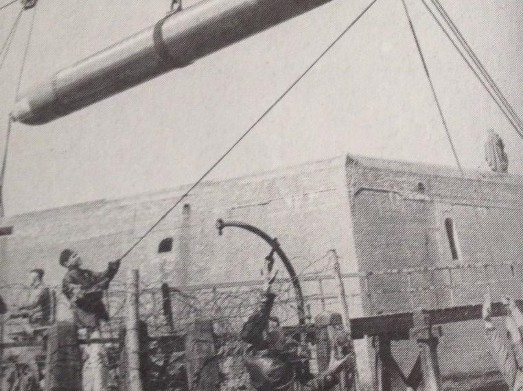 Opslag van Duitse torpedo's in de Kazematten ?
