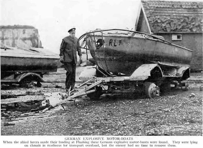 Explosieve motorboot – Zeehondenwerf –