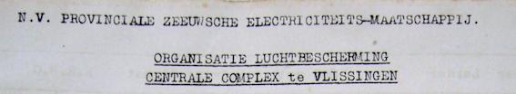 Organisatie luchtbescherming PZEM 1940 deel 1
