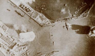 Toestand Vlissingse havens 4 november 1944