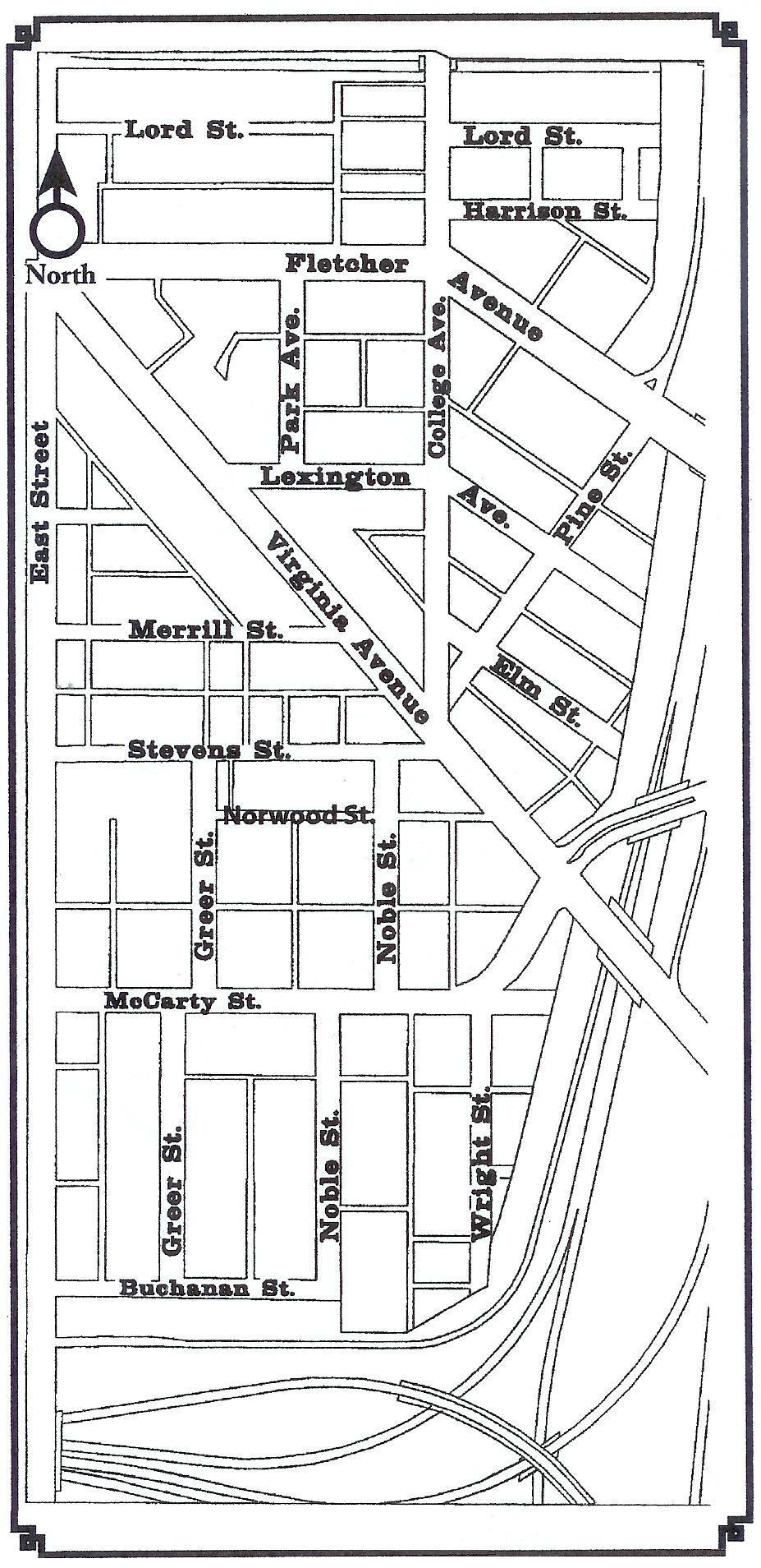 Neighborhood Street Map