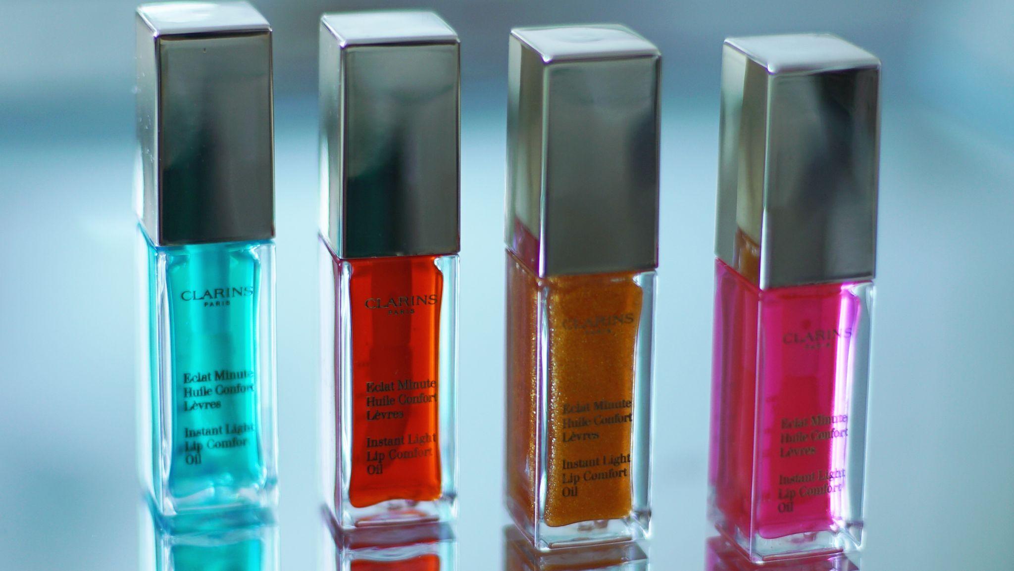 Clarins Lip Oils New Shades Fleur De Force