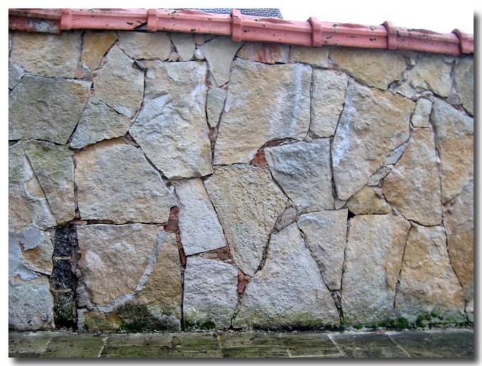 Mur en laves