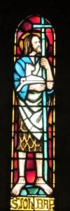 vitrail de saint Jean-Baptiste