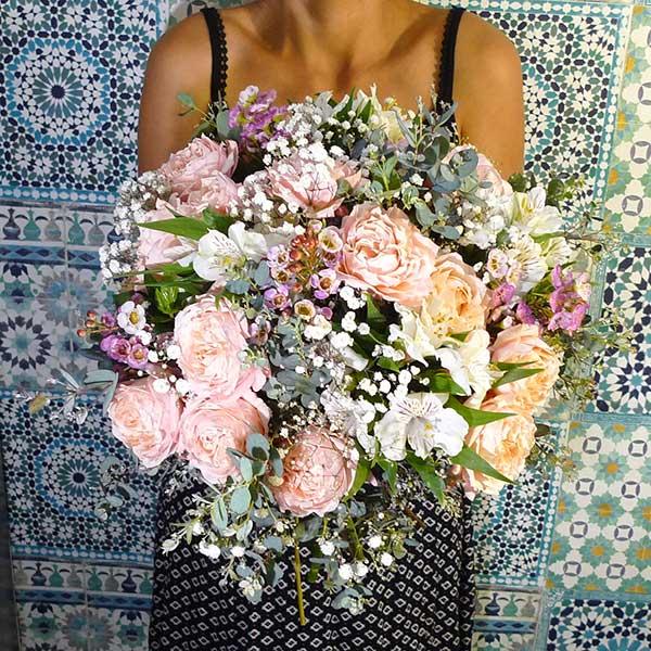 bouquet fleurs demoiselle
