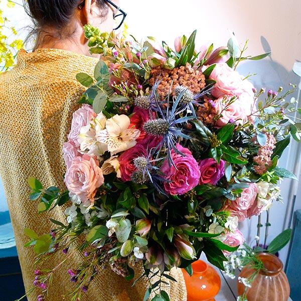 bouquet fleurs nommé pitaya