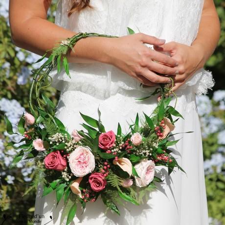 Bouquet Dream Catcher En Fleurs Naturelles Stabilis 233 Es
