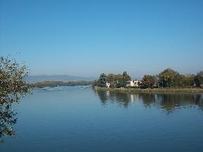 La Saône à Thoissey par Patrick Huet
