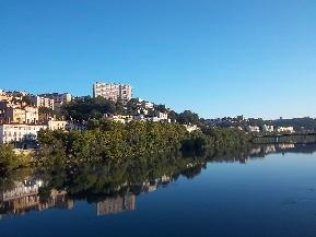 Le Rhône à Lyon par Patrick Huet