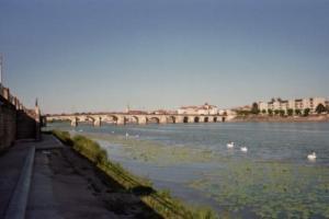 Le Pont Saint-Laurent de Mâcon. Photo de Patrick Huet