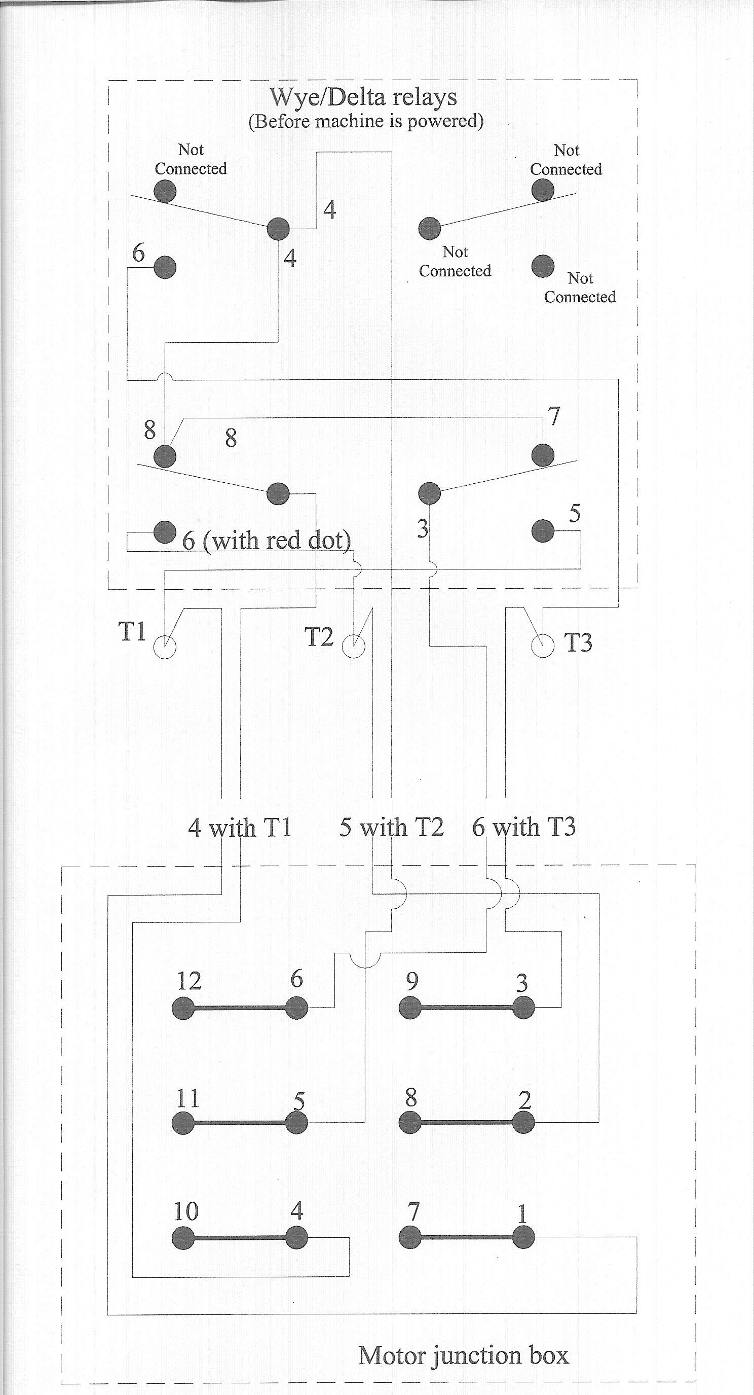 wiring diagram of wye delta motor control dna transcription translation fadal problem