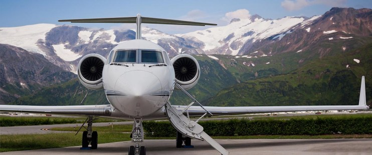 Music and film production air charters