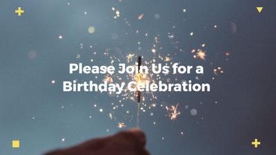 free birthday invitation video maker