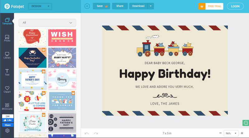 5 free paid birthday video templates