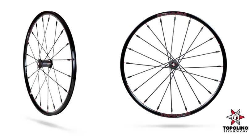 Topolino Carbon Fibre Wheels roll into the range