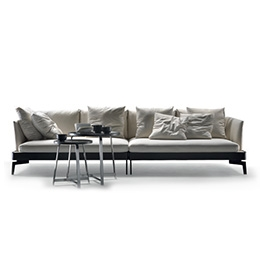chaise longue fabric sofa barcelona sectional ottoman feel good | ten - dormeuse