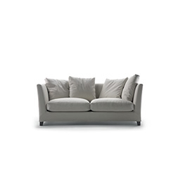 sectional sofa for small e cream tufted living room victor | large - chaise longue dormeuse