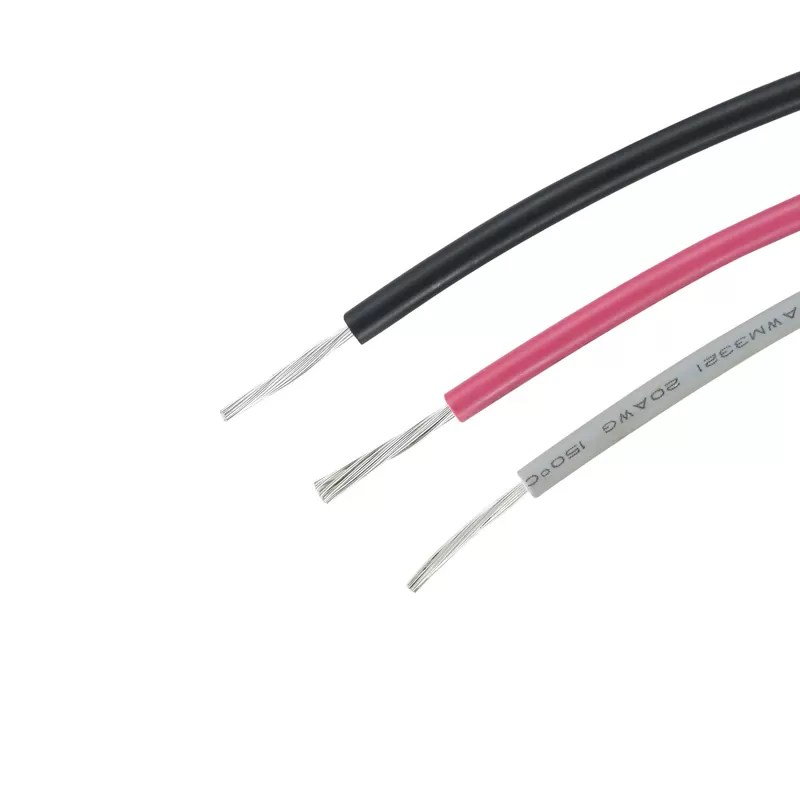 Round Home Appliance XLPE Hook Up Wire 22 AWG AWM3289