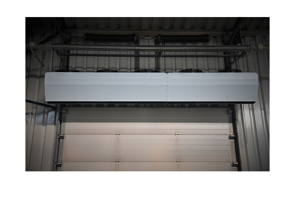 Industrial  Commercial Air Curtains  Ambient Air