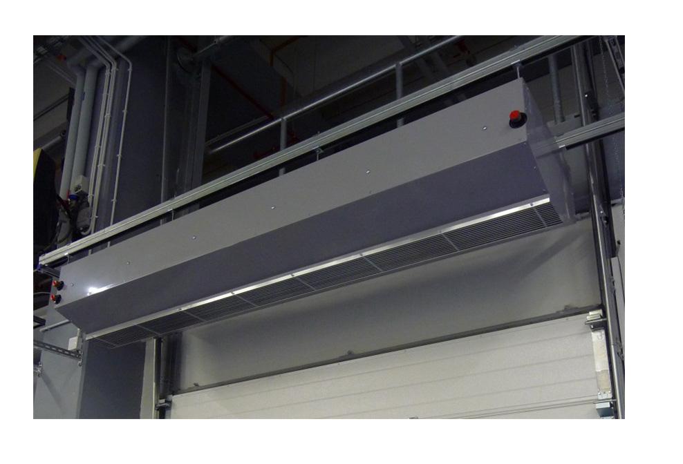 Heated Air Curtains